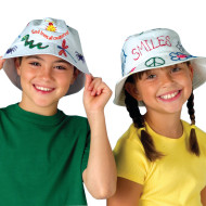 Bucket Hat Craft Kit (makes 12)