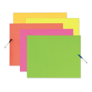 Neon Poster Board  (pack of 25)