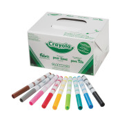 Crayola® Fineline Fabric Markers Classpack® (pack of 80)