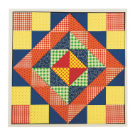 Quilt Square Mosaic Craft Kit (makes 32)