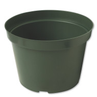 Green Flower Pot, 8""