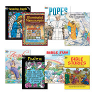 Religious Coloring Book Assortment (pack of 8)