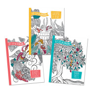 Keep Calm Coloring Books (set of 3)