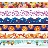 Seasonal Bulletin Border Trim (pack of 6)