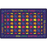 REACH FOR THE STARS GLOW CARPET 7FT 6IN X 12FT