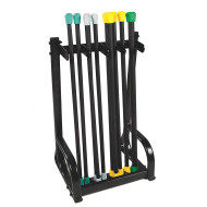 VERSABAR AEROBIC FITNESS BAR STORAGE RACK