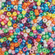 Pearl Pony Beads 1/2-lb Bag (bag of 700)