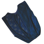 Single Nylon Youth Pinnie - Blue