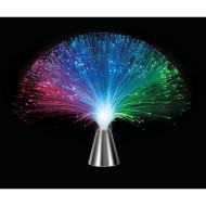 Revolving Color-Changing Fiber Optic Lamp