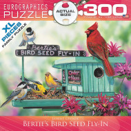 Berties Bird Seed 300 Piece Puzzle