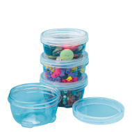 LockTight Storage Containers, Medium 6oz. (pack of 4)