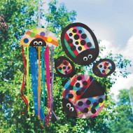 Crafts by Amanda: Rainbow Ladybugs (makes 72)