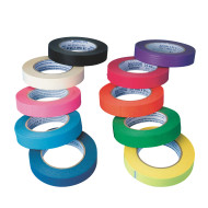 "10-Color Kraft Tape™ Assortment, 1""W x 60 yards ( of 10)"
