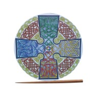 Celtic Cross Elemental Tracing Plate