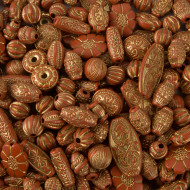Old World Bead Mix - Terracotta