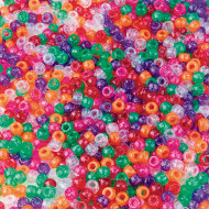 Sparkle Pony Beads 1/2 lb Bag