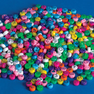 Pastel Alpha Beads 1/2-lb Bag (bag of 600)