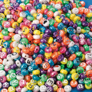 Pearl Alpha Beads 1/2-lb Bag (bag of 600)