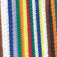 "Chenille Stems 6""x4mm - Assorted Colors  (pack of 100)"