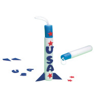 Finger Rockets Craft Kit (makes 12)