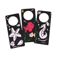 Velvet Art Door Hangers Craft Kit (makes 12)