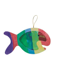 Colorful Fish Craft Kit (makes 12)