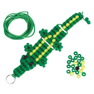 Beaded Alligator Craft Kit (makes 12)