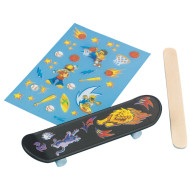 Mini Finger Skateboard Craft Kit (makes 12)