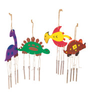 Dino Wind Chimes Craft Kit (makes 12)