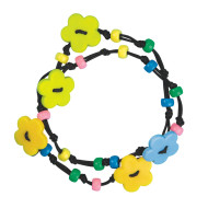 Flower Power Jewelry Craft Kit (makes 12)