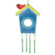 Birdhouse Windchime Craft Kit (makes 12)