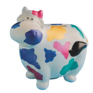 Color-Me™ Ceramic Bisque Cow Banks (makes 12)