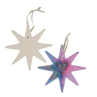 Color-Me™ Bisque Shape, Star (makes 24)