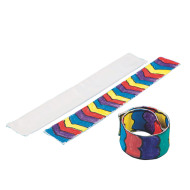 Color-Me™ Fabric Slap Bracelet (makes 24)