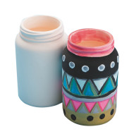 Color-Me™ Ceramic Bisque Mason Jar (makes 12)