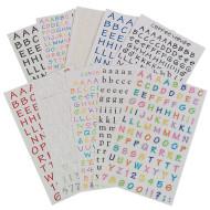 Letteriffic - Assorted Letter Stickers  (pack of 300)