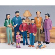 Hispanic Play Family  (set of 8)