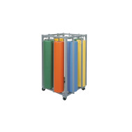"Rack for 36"" Craft Rolls, Holds 8 Rolls"