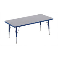 "30"" x 60"" Rectangle Activity Table, 15-24""H"