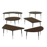 "Classroom/Activity Table Kidney 48"" x 72"""