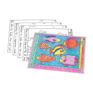 Coloring Placemats - The Deep Blue Sea  (set of 10)