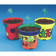 EduCraft® Scholastic Pine Tree Planters Craft Kit  (makes 50)