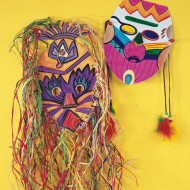 Tribal Mask Craft Kit (makes 24)