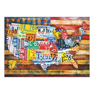 Road Trip USA Jigsaw Puzzle, 300 Pieces