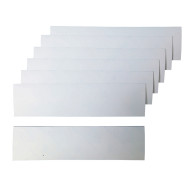 Blank Self-Adhesive Bumper Stickers (pack of 24)