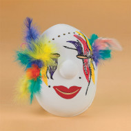 Carnival Mask Craft Kit (makes 12)