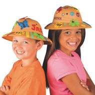 Safari Fun Hats Craft Kit (makes 12)