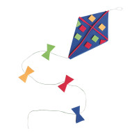 Windy Day Kites Craft Kit (makes 48)