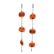 Jack-O-Lantern Garland Craft Kit (pack of 12)