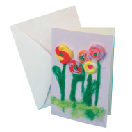 Fiber Art Cards Craft Kit (makes 48)